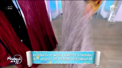 Laurette s-a apucat de design vestimentar!