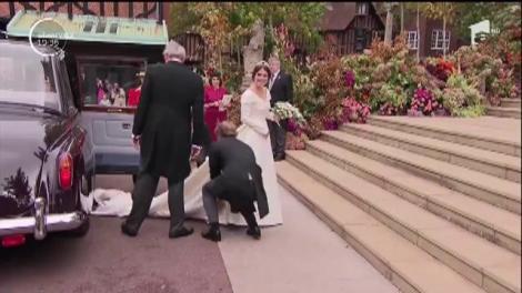 Nuntă la Casa Regală britanică. Una dintre nepoatele Reginei Elisabeta a II-a s-a căsătorit