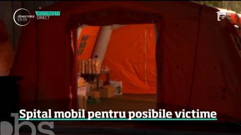 Seism 2018. Spital mobil pentru posibile victime