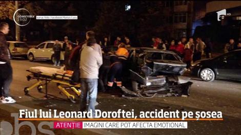 Fiul de 20 de ani al lui Leonard Doroftei, accident pe o șosea din Ploieşti