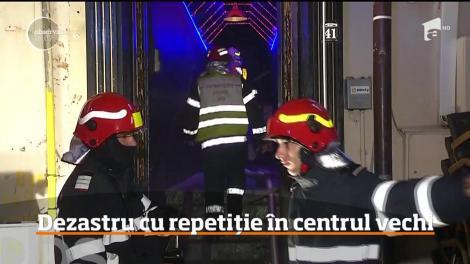 """Centrul Vechi al Capitalei, o """"bombă cu ceas""""! Există branșamente ilegale la curent: Un incendiu poate izbucni oricând"""