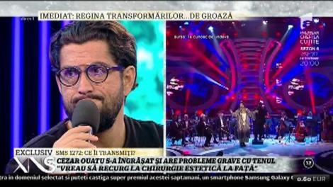 Eliminarea de la X Factor UK a lăsat urme pe trupul lui Cezar Ouatu!