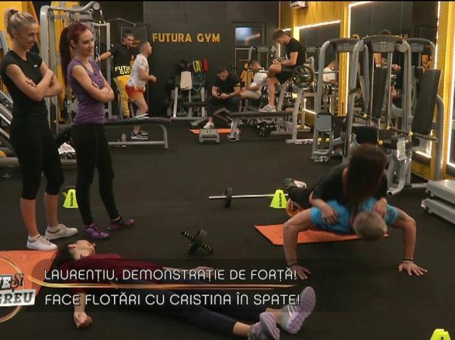 """Burlacul Laurențiu și-a scos pretendentele la sala de sport și a făcut SHOW! Ce provocare au primit concurentele de la """"Totul pentru dragoste"""""""