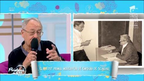 Ovidiu Ioanițoaia este  primul moderator de emisiuni de scandal. Jurnalistul și-ar fi dorit să fie fotbalist