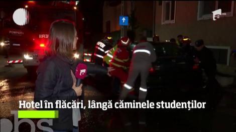 Au fost momente de panică într-un cămin studenţesc din Timişoara!