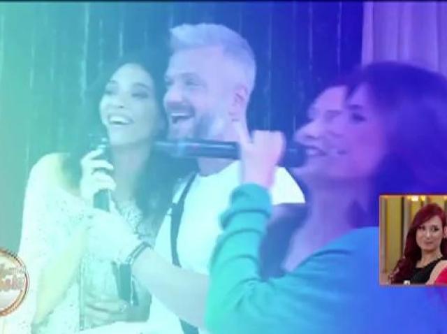 Burlacul și cele trei fete, seară pe cinste la Karaoke