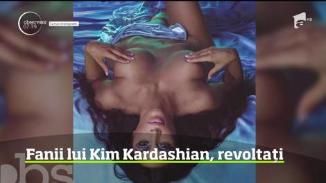 """Minuneeee"". Kim Kardashian plânge cu lacrimi... turcoaz!"