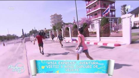 """Începe aventura în """"Asia Express"""". Nouă perechi de vedete au plecat în India!"""