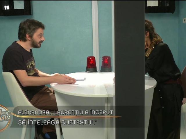 """Andrei și Alexandra, planuri noi în camera de strategii: """"Tu n-ai venti aici să descoperi prietenia cu fetele"""""""