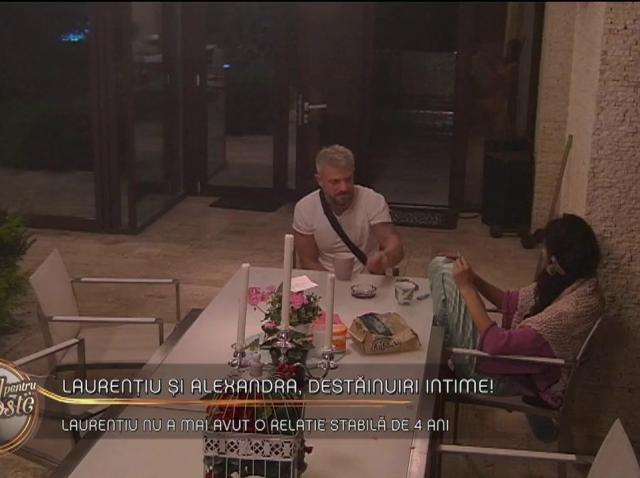 """Laurențiu și Alexandra, destăinuiri intime: """"Mi-am făcut listă cu iubiții mei"""""""