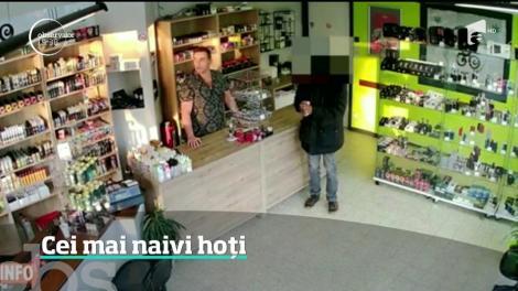 O tentativă de jaf absurdă a avut loc într-un magazin din Belgia. Păgubitul le-a sugerat hoţilor să revină mai târziu, pentru o lovitură mult mai mare