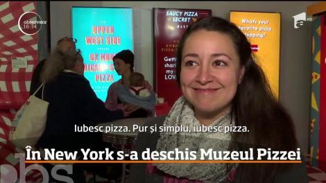 În New York s-a deschis Muzeul Pizzei