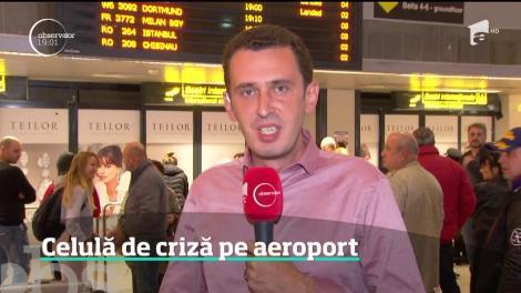 Alertă maximă pe aeroportul Otopeni. Un avion a aterizat de urgenţă după o alertă cu bombă
