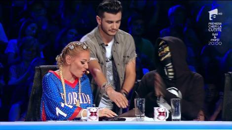 Glume în rime! Vlad Andrieș cântă o compoziţie proprie de rap. Vezi interpretarea concurentului, la X Factor!