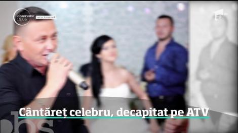 Accident bizar în Iași. Un cântăreţ celebru a fost decapitat pe ATV