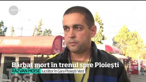 Un bărbat a murit în trenul spre Ploieşti. Tragedia, semnal de alarmă pentru toţi călătorii