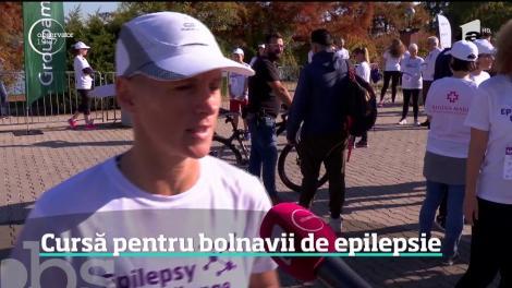 Cursă pentru bolnavii de epilepsie, în București