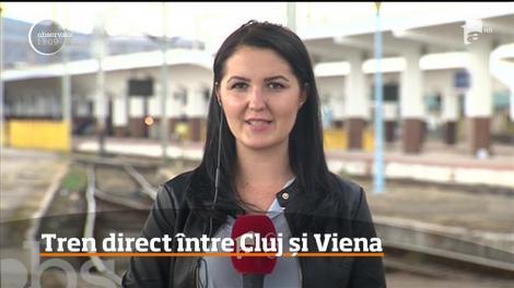 De anul viitor, tren direct între Cluj și Viena
