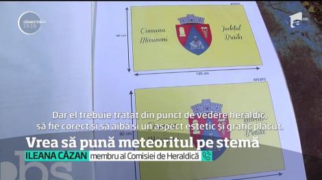 Motivul pentru care edilul din comuna clujeană Mociu vrea să pună un meteorit pe stema localităţii