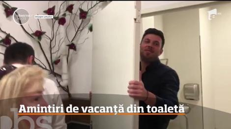 O turistă din America în vârstă de 75 de ani a vizitat un magazin din Ploieşti şi a rămas blocată în toaletă
