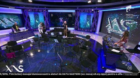 Moment de SENZAȚIE cu orchestra, chiar în platoul emisiunii! Ozana Barabancea poate să cânte şi să dirijeze în ACELAȘI timp!