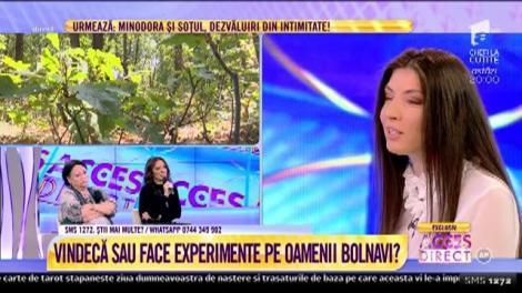 Ioana Voiculeț s-a vindecat de o boală cronică cu ajutorul tratamentului natural al lui Marin Giurea