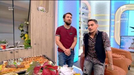 """Dani Oțil, glume la adresa colegului său: """"Răzvan, ești slab pentru că banii te-au golit de sevă"""""""