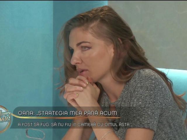 """Oana, despre burlacul Emilian: """"Strategia mea până acum a fost să fug, să nu fiu în cameră cu omul ăsta"""""""