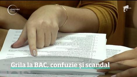 E revoltă în Învăţământ, după ce ministerul a anunţat că se introduc testele grilă la Bacalaureat. Cum va arăta examenul