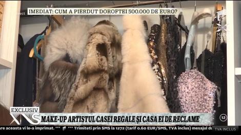 Make-up artistul Casei Regale a României are o casă cu lipici la spoturi publicitare