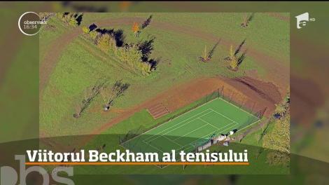 David şi Victoria Beckham, teren de tenis, cadou, pentru fiul lor