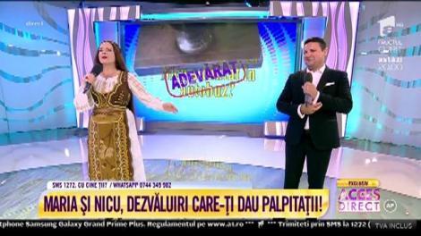 """""""Îi place să umble desculță!"""" Maria Dragomiroiu şi Nicu Paleru, la testul prieteniei"""