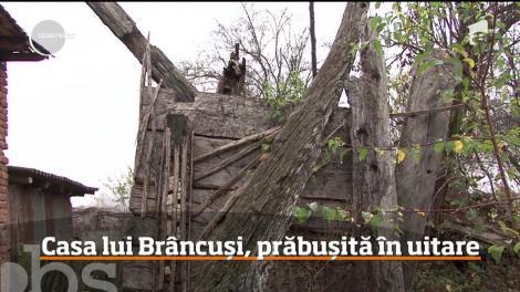 Ministerul Culturii vrea să cumpere casa prăbușită în care s-a născut Constantin Brâncuşi
