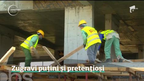 Zugravul a devenit superstar pe piaţa construcţiilor. Cât a ajuns să coste un meseriaș