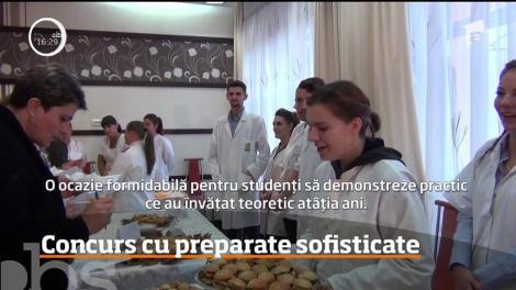 Studenţi de la Facultatea de Inginerie din Baia Mare, concurs cu preparate sofisticate