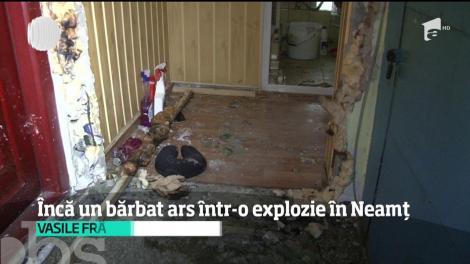 Explozie într-un bloc din localitatea Roman, judeţul Neamţ! Un bărbat a ajuns în stare gravă la spital