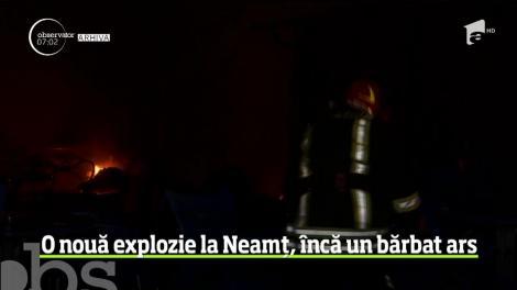 O nouă explozie în județul Neamț, la zece zile de la deflagrația în care a murit tânărul de 28 de ani! Un bărbat, rănit grav