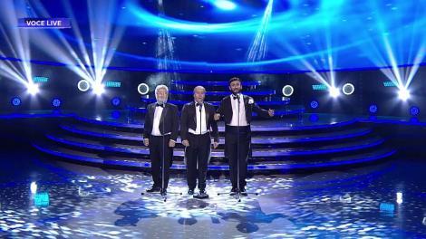 Romică Țociu, Cornel Palade și Cezar Ouatu se transformă în cei trei mari tenori, José Carreras, Plácido Domingo și Luciano Pavarotti