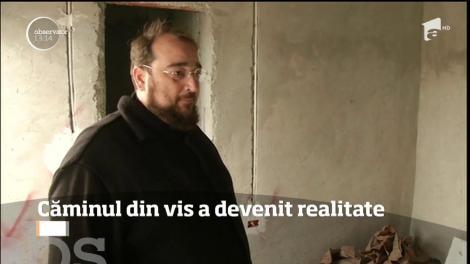 Un preot din Constanţa a construit un cămin pentru copiii abandonaţi, după ce a avut un vis