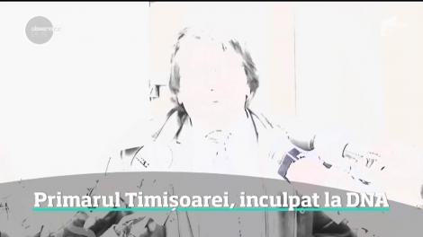 Nicolae Robu, primarul Timișoarei, inculpat la DNA