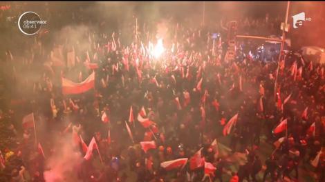 Polonia a sărbătorit un secol de independenţă naţională