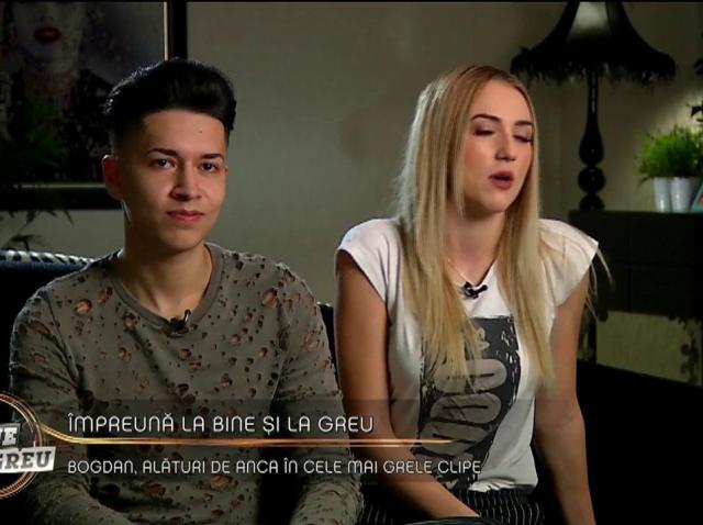 """Împreună la bine și greu! Bogdan și Anca formează un cuplu: """"Iubita mea este foarte posesivă"""""""