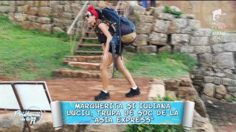 """Margherita face spectacol la """"Asia Express""""! Concurenta și-a luat kilograme de machiaj în bagaje"""