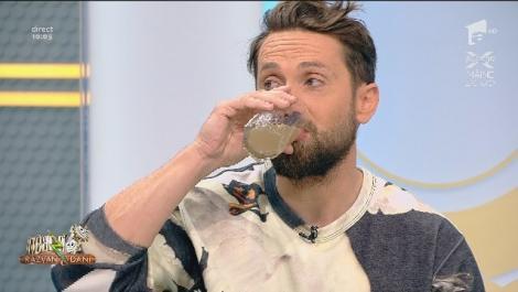 """Aceasta este băutura secretă a lui Dani: """"E bună pentru febră, tuse, anemie oboseală și boli digestive. Nu am, dar poate fac!"""""""