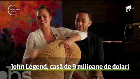 John Legend, casă de nouă milioane de dolari