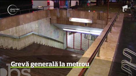 Grevă generală la metrou