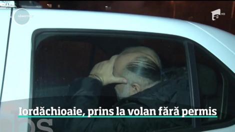 Daniel Iordăchioaie, prins la volan fără permis