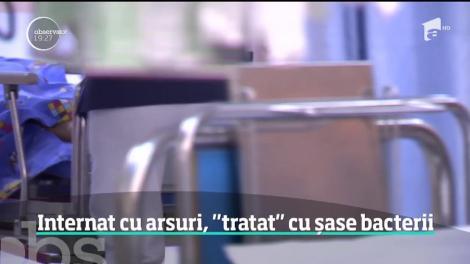 În România, pacienţi cu arsuri grave se luptă cu bacteriile înainte ca medicii să poată închide rănile