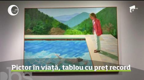 O pictură a britanicului David Hockney, vândută cu 90 de milioane de dolari