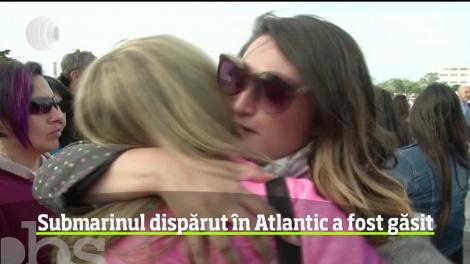Submarinul dispărut în Atlantic a fost găsit